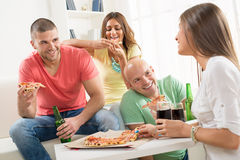 Friends enjoying time together Royalty Free Stock Photography