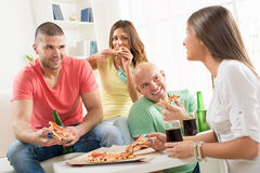 Friends enjoying time together Royalty Free Stock Image