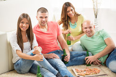 Friends enjoying time together Royalty Free Stock Photo