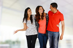 Friends and Family Royalty Free Stock Image