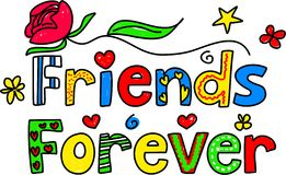 Friends forever Royalty Free Stock Photos