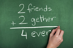 Friends Forever Concept Royalty Free Stock Image