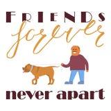Friends forever never apart Stock Photo