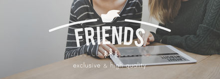 Friends Friendship Connection Togetherness Relationship Communit Stock Photo