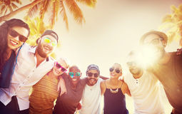 Friends Friendship Leisure Vacation Togetherness Fun Concept Stock Image