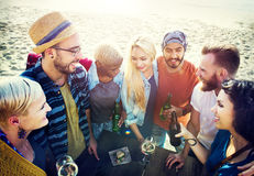 Friends Friendship Leisure Vacation Togetherness Fun Concept Royalty Free Stock Photo