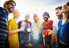 Friends Friendship Leisure Vacation Togetherness Fun Concept Royalty Free Stock Images