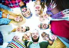 Friends Friendship Leisure Vacation Togetherness Fun Concept Stock Photography