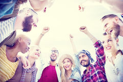 Friends Friendship Leisure Vacation Togetherness Fun Concept Royalty Free Stock Photography