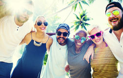 Friends Friendship Leisure Vacation Togetherness Fun Concept Royalty Free Stock Image