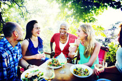 Friends Friendship Outdoor Chilling Togetherness Concept Stock Photos