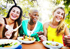 Friends Friendship Outdoor Chilling Togetherness Concept Royalty Free Stock Image