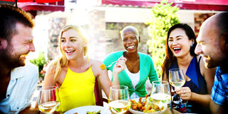 Friends Friendship Outdoor Chilling Togetherness Concept Stock Image