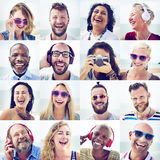 Friends Friendship Portrait Togetherness Fun Concept Stock Photography