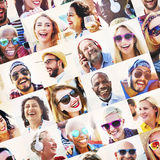 Friends Friendship Portrait Togetherness Fun Concept Royalty Free Stock Photography