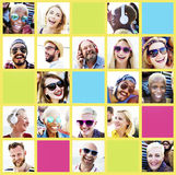 Friends Friendship Portrait Togetherness Fun Concept Royalty Free Stock Photos