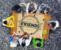 Friends Friendship Relationship Buddy Concept Stock Images