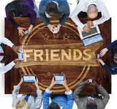 Friends Friendship Relationship Buddy Concept Stock Photos