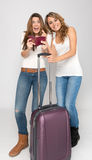 Friends on the go Royalty Free Stock Photography