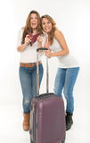 Friends on the go Royalty Free Stock Images