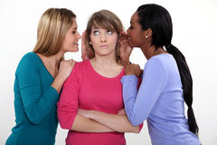 Friends gossiping Royalty Free Stock Photos