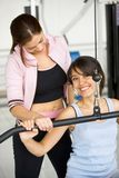 Friends at the gym Stock Images