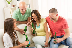 Friends hanging out Royalty Free Stock Images