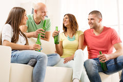 Friends hanging out Royalty Free Stock Photography