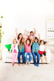 Friends are happy when together Royalty Free Stock Images