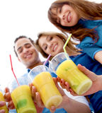 Friends having a drink Royalty Free Stock Photography