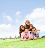 Friends having fun Royalty Free Stock Images