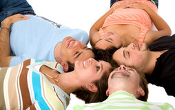 Friends having fun Royalty Free Stock Photo