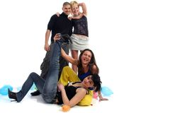 Friends having fun Stock Photography