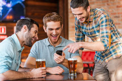 Friends having fun. Royalty Free Stock Photo