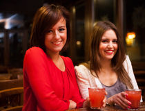 Friends having great time in a pub Stock Image