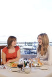 Friends having lunch Stock Photo