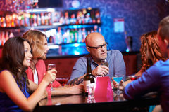 Friends having party Royalty Free Stock Photography