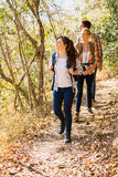 Friends hiking mountain Stock Photography