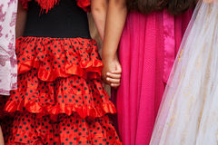 Friends holding hands Royalty Free Stock Photography
