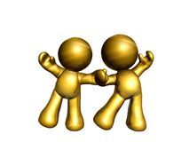 friends icon figure Royalty Free Stock Image