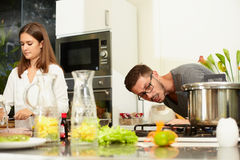 Friends for kitchen Stock Photo