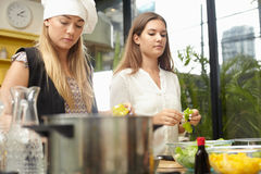 Friends for kitchen Stock Photos