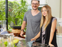 Friends for kitchen Royalty Free Stock Photography