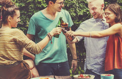Friends Lifestyle Party Happiness Concept Royalty Free Stock Photo