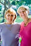 friends mature sisters Στοκ Φωτογραφία