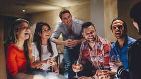 Friends Night Out Stock Images