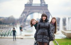 Friends in Paris Stock Photography