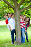 Friends at the park Stock Photography