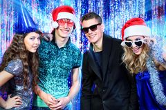 Friends party Stock Images