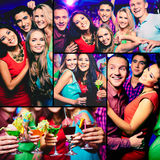 Friends at party Royalty Free Stock Photo